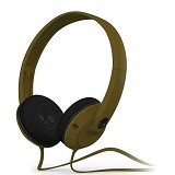 SKULLCANDY Uprock w/Mic [S5URDY-237] - Army Green - Headphone Full Size